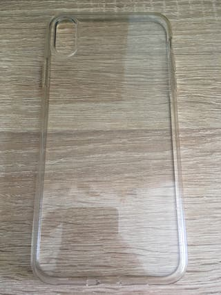 Funda iPhone XS Max transparente