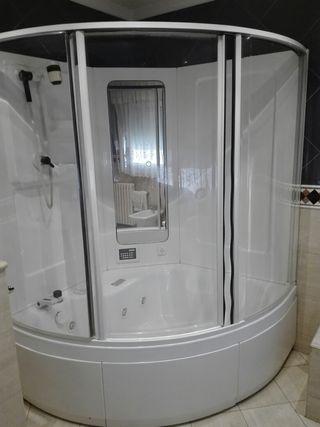 Cabina bañera jacuzzi y ducha