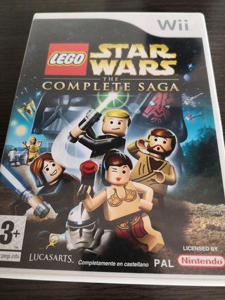 juego wii lego star wars