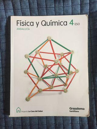 LIBRO 4º ESO SECUNDARIA FÍSICA Y QUÍMICA