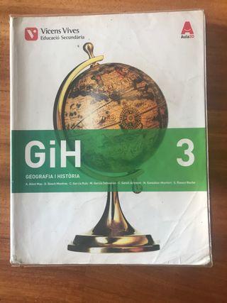 Libro Geografía y Historia 3 eso