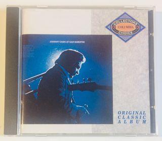 JOHNNY CASH at San Quentin Disco Cd