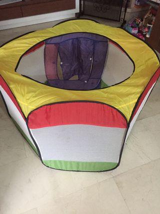 Casa o casita de bolas parque infantil