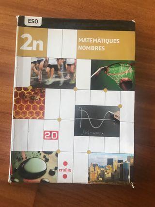 Libro de Matemáticas 2 eso