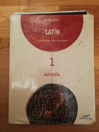 libro de latín de 1° bachillerato