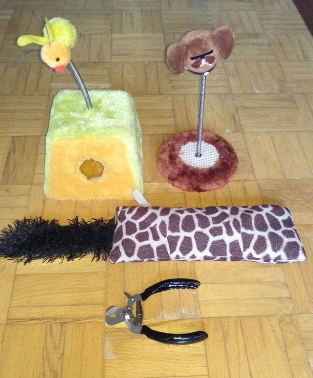 lote juguetes mascotas