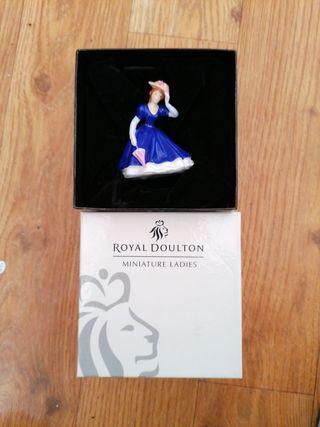 royal doulton miniature ladies