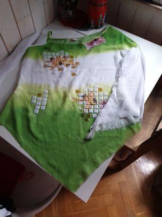 blusa de fiesta