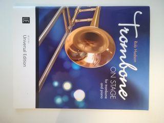 Trombone on Stage Rob Hudson