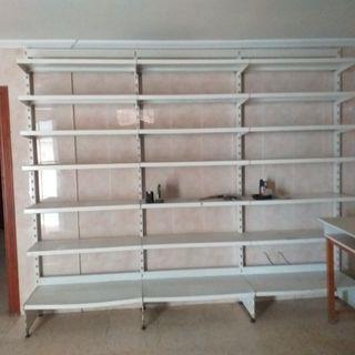 Estanterías de aluminio de hostelería