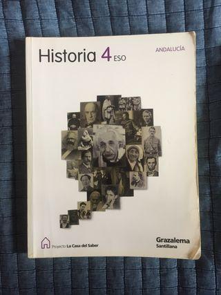 LIBRO HISTORIA 4º SECUNDARIA