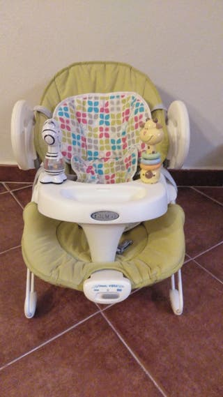 Columpio+sillita bebé Graco