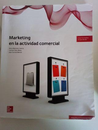 Libro de texto Marketing en la actividad comercial