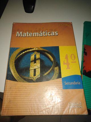 libro 4ESO matematicas