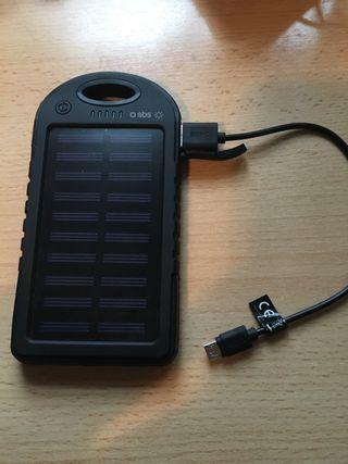 Cargador solar sbs