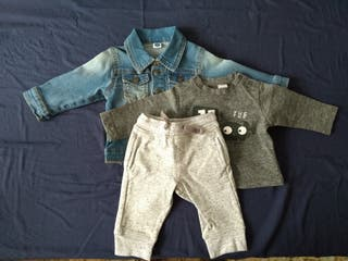Ropa TucTuc bebe 3 meses