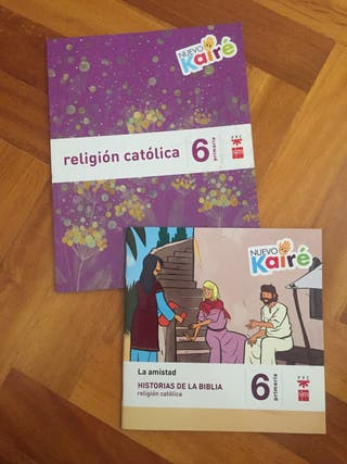 Libro religión 6 de primaria