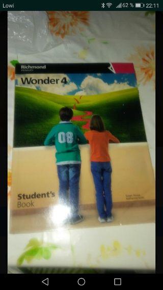 libro inglés de 4 primaria Santillana