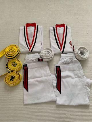 Kimono Mugendo 150cm (otro de 140cm) + cinturón