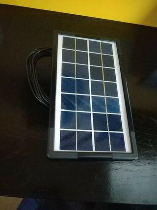Panel Solar Camping Portatil Telefono Tab Movil