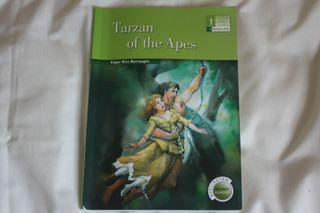 """Libro en inglés básico """"Tarzan of the Apes""""."""