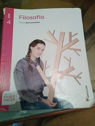 libro de filosofía de 4° de la eso