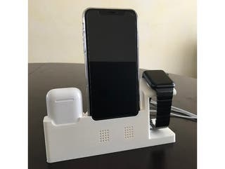 STAND Carga iPhone X/Xs (MAX) Apple Watch, Airpods