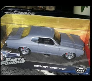 1/24 scale Fast and Furious car