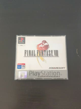 juego final fantasy VIII de consola PlayStation