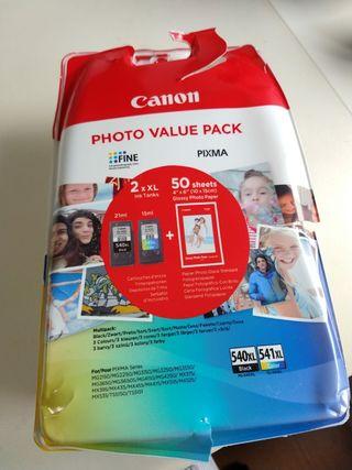 cartuchos de tinta para impresora Canon PIXMA