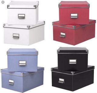 Cajas archivadores almacenaje