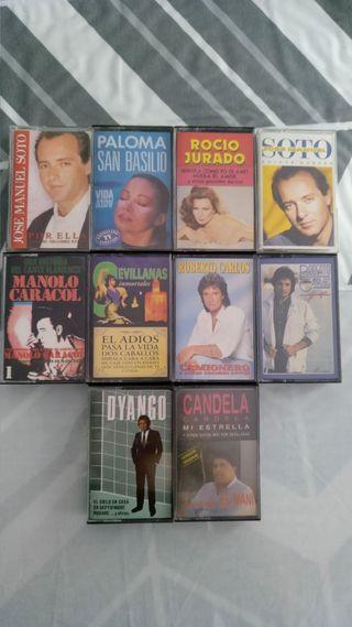 Cintas de cassette antiguas