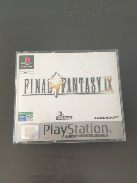 juego final fantasy IX de consola PlayStation