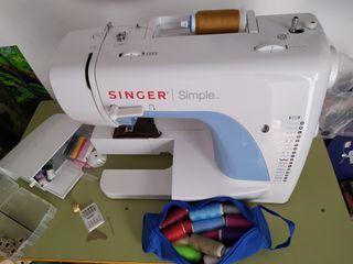 máquina de coser singue