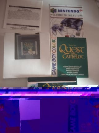 quest for camelot Game boy color