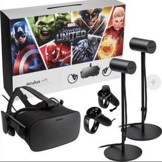 Oculus Rift + 2 mandos touch + 2 sensores + juego