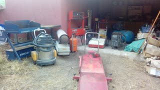 LOTE MAQUINARIA INDUSTRIAL TALLER MECANICO
