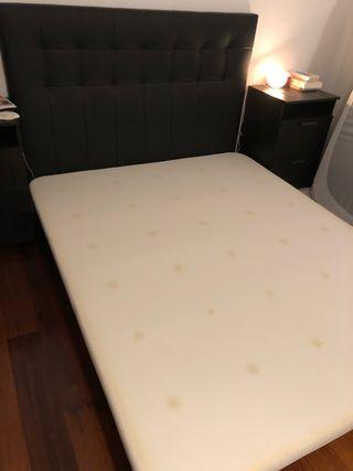 Base cama + cabecero 160x200