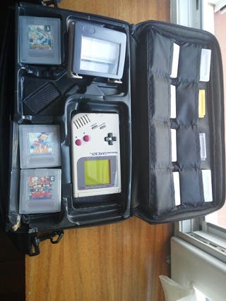 Nintendo Game boy original y 11 juegos