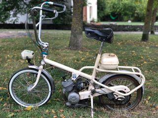 Bici antigua ciclomotor
