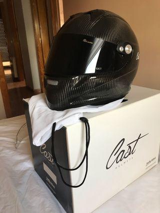 Casco de moto cast cm5 carbon clasic