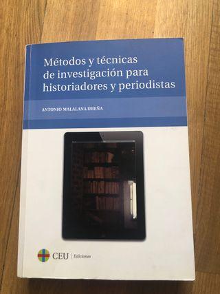 Métodos y tec. de investigación para historiadores