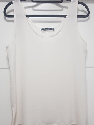 2 camisetas de tirantes ZARA BASIC de segunda mano por 3
