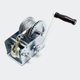 Cabrestante manual de cable de hasta 1.100 Kg
