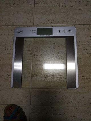 Bascula electrónica de baño Fitness 15€