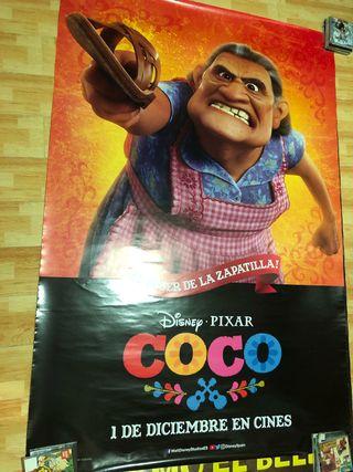 Póster cine COCO Disney Pixar maxi 175x117cm