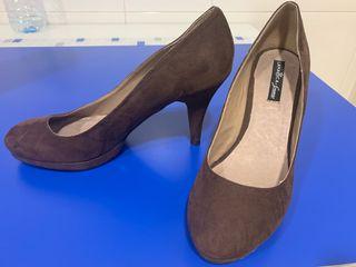Zapatos de tacón de vestir mujer número 40