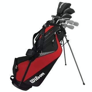 Wilson full set of golf clubs