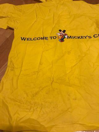 Chubasquero talla 3 años. Mickey Mouse