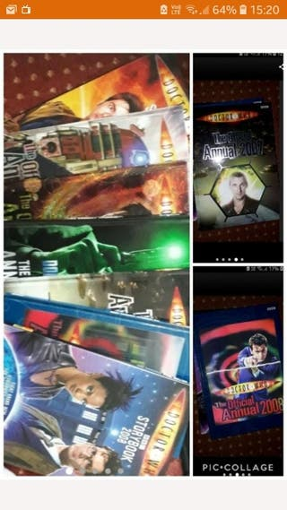 7 Doctor Who annuals